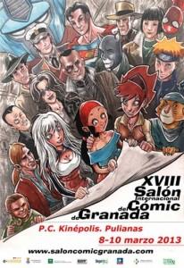 XVIII Salón Internacional del Cómic de Granada
