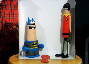 Batman y Robin de Aardman