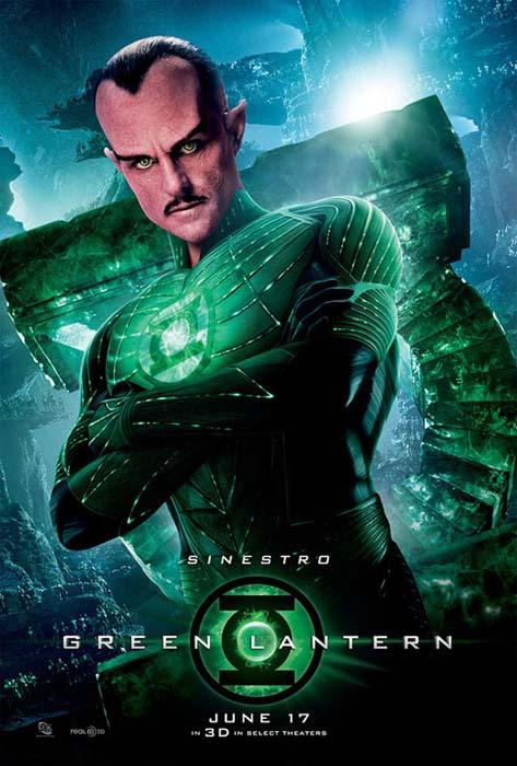 Strong quería volver a ser Sinestro en Green Lantern 2 ... Green Lantern Movie Poster