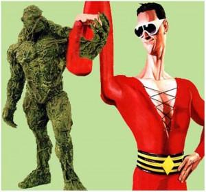 Plastic Man y la Cosa del Pantano