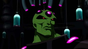 Brainiac en Superman: Unbound