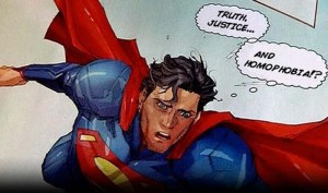 Superman homofobia