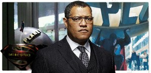 Lawrence Fishburne como Perry White