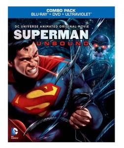 Carátula Blu-ray de Superman Unbound