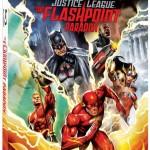 Carátula del Blu-ray de Justice League: The Flashpoint Paradox