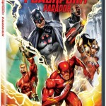 Carátula del DVD de Justice League: The Flashpoint Paradox