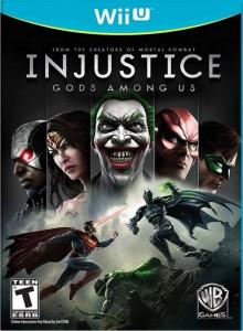 Carátula de Injustice: Gods Among Us para Wii U