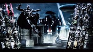 Pantalla de selección de personaje de Injustice: Gods Among Us