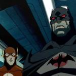 Batman y Flash en Justice Leaghe: The Flashpoint Paradox