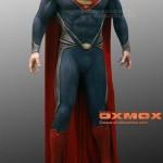Figura del Superman de El Hombre de Acero por Oxmox