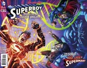 Portada WTF para Superboy Nº 19
