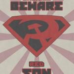 Póster de Superman Hijo Rojo hecho por un fan
