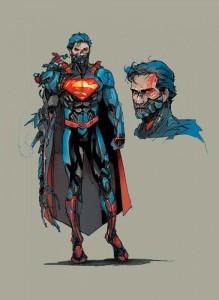 Superman Cyborg de los Nuevos 52