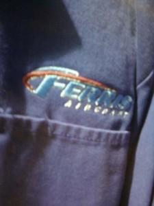 Logotipo de Ferris Air en Green Lantern