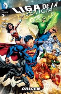 Liga de la Justicia Nº 1: Origen