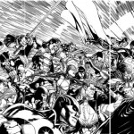 Portada de Doug Mahnke para Trinity War