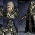 Diseño conceptual de Zod para El Hombre de Acero