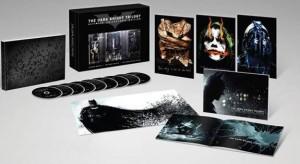 Edición Coleccionista en Blu-ray de la trilogía de El Caballero Oscuro