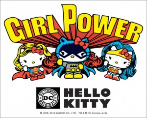 Hello Kitty y DC Comics