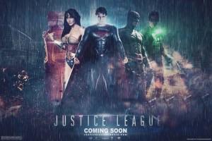 Póster de La Liga de la Justicia hecho por un fan