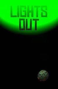 Linterna Verde Luces Fuera