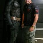 Foto inédita de Christian Bale como Batman