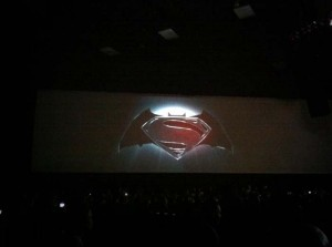 Logo Batman/Superman en la SDCC