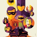 Póster de Tom Whalen de Batman 66 para la SDCC