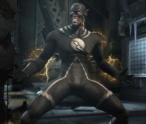 Traje del Flash de La Noche Más Oscura para Injustice: Gods Among Us