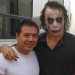 Foto inédita de Heath Ledger como Joker