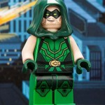 Figura Lego exclusiva de Flecha Verde para la SDCC 2013