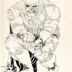 Portada original de Frank Miller para The Dark Knight Returns Nº 2