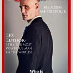 Eric Lettman como Lex Luthor en Rolling Stone