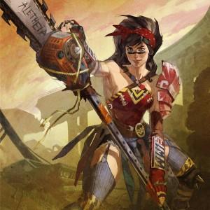 Atomic Wonder Woman en Infinite Crisis