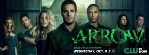Banner de la segunda temporada de Arrow