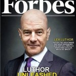 Montaje de Brian Cranston como Lex Luthor en Forbes