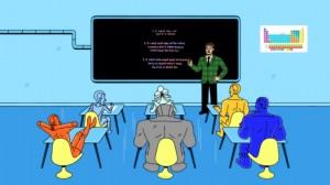 Segundo cortometraje animado de los Metal Men
