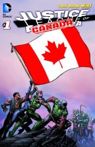 Justice League of Canada Nº 1