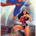 Póster de Superman/Wonder Woman para la NYCC 2013