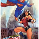 Póster de Superman/Wonder Woman para la NYCC 2013