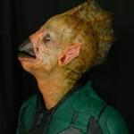Prueba de maquillaje para Green Lantern