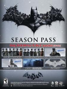 Season Pass USA para Batman: Arkham Origins