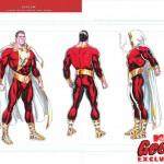 Boceto de Shazam para los Nuevos 52