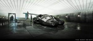 Diseño conceptual para El Caballero Oscuro