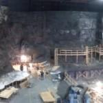 Construcción de Batcueva para El Caballero Oscuro: La Leyenda Renace