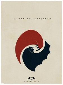Póster de Batman/Superman por Matt Ferguson