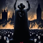Póster de Mondo de V de Vendetta