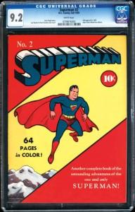 Superman Nº 2 CGC 9,2