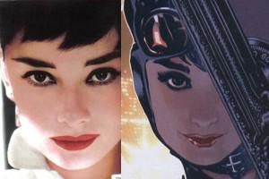 Catwoman - Audrey Hepburn por Adam Hughes