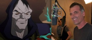 Desaad y Bruce Thomas en Justice League: War